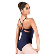 Adult Keyhole Back Camisole Leotard