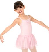 Girls Glitter Mesh Camisole Ballet Tutu Dress