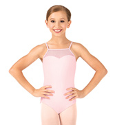 Child Camisole Sequin Tulle Leotard