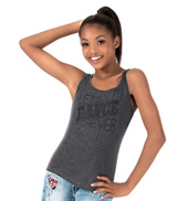 Girls Lets Dance Forever Stripe Dance Tank