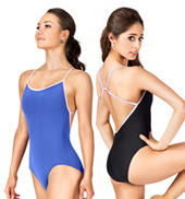 Alina Adjustable Loop Camisole Leotard