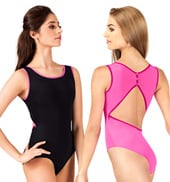 Adult Basia High Neck Tank Leotard