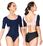 Natalya 1/2 Sleeve Leotard