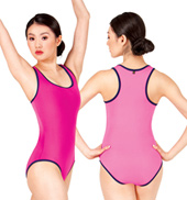 Adult Dina Reversible Racerback Tank Leotard