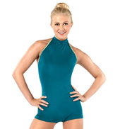 Adult Gita Mock Neck Tank Shorty Unitard