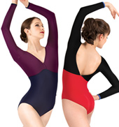 Adult Nastia Long Sleeve Leotard