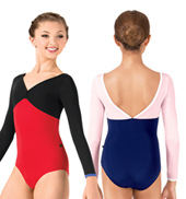 Girls Nastia Long Sleeve Leotard