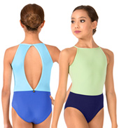 Girls Isla High Neck Tank Leotard