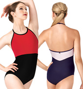 Sonya Jewel Halter Leotard