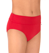Girls Roksana Wide Waistband Dance Briefs
