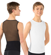 Adult Misha Mesh Back Tank Dance Top