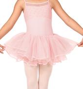 Girls Velvet Ribbon Tutu Skirt