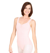 Adult Pinch Front Tank Cotton Leotard