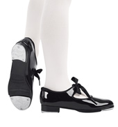 Child Jr. Tyette Ribbon Tie Tap Shoes