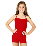 Child Halter Shorty Unitard