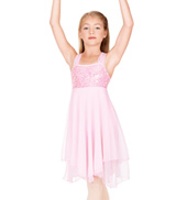 Child Sequin Bodice Chiffon Dress