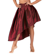 Adult Iridescent High-Low Skirt