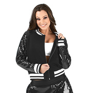 Adult Sequin Varsity Jacket