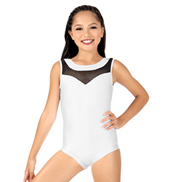 Girls Mesh Tank Leotard