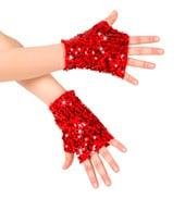 Adult Sequin Mitts