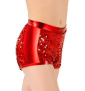 Girls Sequin Shorts