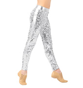 Girls Sequin Leggings