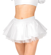 Adult Short Satin Skirt