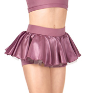 Child Short Satin Skirt