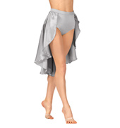 Adult Satin Bustle Skirt