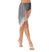 Child Emballe Two-Tone Mesh Drape Briefs