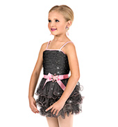 Girls 3-Tier Camisole Tutu Dress Set