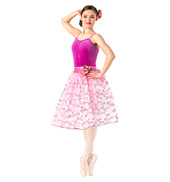 Adult Romantic Floral Tutu Dress Set