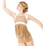 Womens Glitter Mesh 2-Piece Performance Set