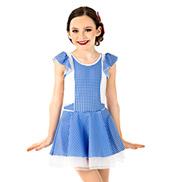 Girls Gingham Oz Dress Set