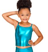 Child Metallic Top