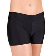 Adult Dance Shorts With Banded Waist
