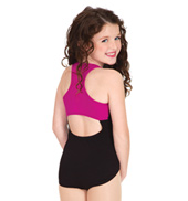 Child Racer Back Tank Leotard