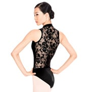 Adult Lace Back Tank Leotard