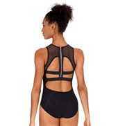 Adult Zipper Back Tank Leotard