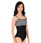 Adult Striped Camisole Leotard