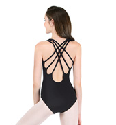 Adult Tank Leotard with Triple Strap Back