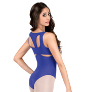 Adult Tank Leotard with Cut Out Back