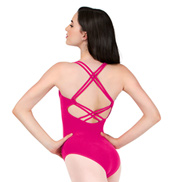Adult Strappy Back Camisole Leotard