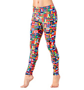 Adult International Flag Leggings