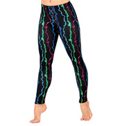 Adult Lightning Bolt Leggings