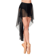 Adult Hi-Lo Pull-On Mesh Skirt