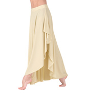 Adult Long Pull-On Hi-Lo Skirt