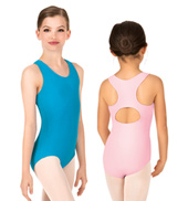 Child Keyhole Back Tank Leotard