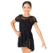 Girls Lace Cap Sleeve Dress