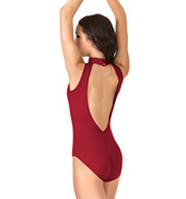 Adult Deep V-Back High Neck Tank Leotard